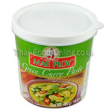 Authentic Thai Green curry paste (400g) by Mae Ploy - UK Seller