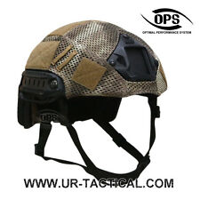 OPS/UR-TACTICAL COMBAT COVER FOR OPSCORE FAST HELMET IN A-TACS AU - L/XL