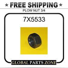 7X5533 - PLOW NUT 3/4 2J3506 1F7959 3K8547 2C3657 fits Caterpillar (CAT)