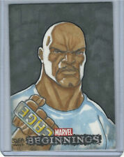 Marvel beginnings Sketch Card Luke Cage Hand Drawn Art 1 of 1