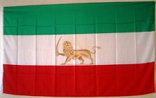 IRAN mit Löwe alte Iranische Fahne Flagge Flag 90 x 150 cm asiatischer Staat