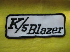 "Vintage Cheverolet K/5 Blazer trucks Dealer Uniform Patch 4 3/4 ""X 2"""