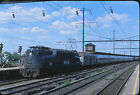 1977 Amtrak Altoona GG1 Engine #918 - Original 35mm Railroad Slide