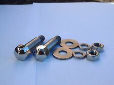 SUZUKI GT750 RE5A CLOCK MOUNTING BOLT SET  - STAINLESS STEEL  09111-08028