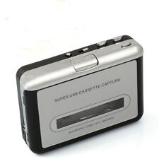 Tape to USB Cassette-to-MP3 Converter Audio Capture Tape Player for Mac/Win OS