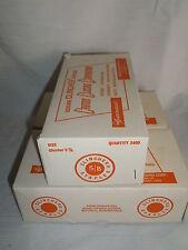 Genuine Clincher Staples C 5/8 Copper Clad 2400 Count Per Box 3 Boxes