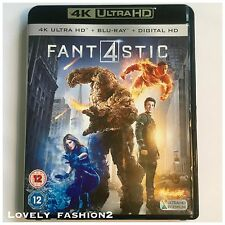 Fantastic Four 4 2015 4K Ultra UHD Blu-Ray One Disc ONLY Movie Film In Box
