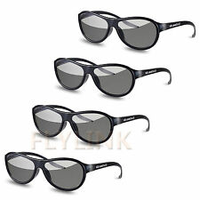 LG Cinema AG-F310 3D Polarized PASSIVE GLASSES pour LCD TV LED 4 Paires