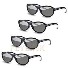 LG Cine AG-F310 3D Polarized PASSIVE GLASSES para LCD LED TV 4 Pares