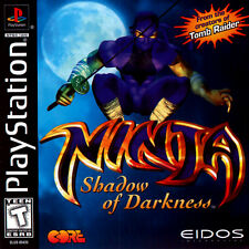 Ninja: Shadow of Darkness (PlayStation PS1) Defeat dragons, demons & More!