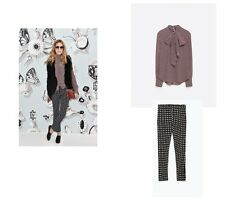"WT ZARA BUNDLE ASO ON OLIVIA ""THE FULL LOOK"" TIE RED DOTS DSHIRT & TROUSERS S"