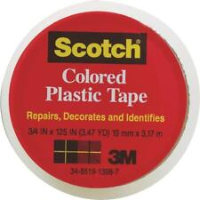 "Scotch 3/4""x125"" Clear Plastic Tape by 3M 190CL"