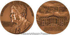 President William J. Clinton US Mint Bronze Medal & Case 1st Term
