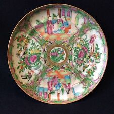 Chine plat céramique porcelaine de Canton XIXe China