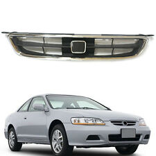 For Honda Accord 2.0L/2.3L 98-02 Front Hood Grilles Grill Vent Hole Overlay Trim