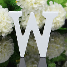 Letter W Wooden Alphabet Name Freestanding Wedding Birthday Party Home Decor #1
