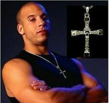 "Fast and Furious 7 Dominic""Dom""Toretto's Necklace Cosplay Cross Amulet Pendant"