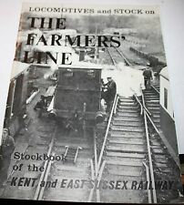 LOCOMOTIVES & STOCK ON THE FARMER'S LINE KENT AND EAST SUSSEX RAILWAY 1970