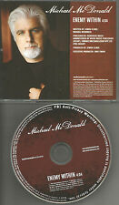 Doobie Brothers MICHAEL McDONALD Enemy Within 2007 USA PROMO Radio DJ CD Single