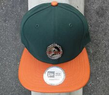 Black Scale Strpalte Mens green/orange Skate Co. Strap Snapback Hat