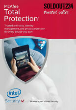 MCAFEE TOTAL PROTECTION 2017 1-PC 12-Months+3-Months WINDOW DOWNLOAD VERSION