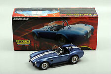 1:18 Greenlight mecum sold 1966 shelby cobra s/C BLUE/w