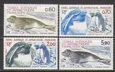 FSAT/TAAF 1984 Seals/Penguins/Birds 4v set (n23008)