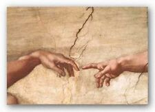 ART PRINT The Creation of Adam Michelangelo Buonarotti