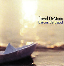 CD SINGLE promo DAVID DeMARIA barcos de papel SPAIN 2004