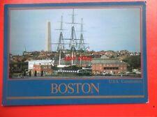 POSTCARD USA USS CONSTITUTION - BOSTON