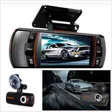 "2.7"" Full HD 1080P Car LCD DVR Dual Lens Camera Video Recorder G-sensor Dash Cam"