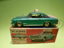 ICHIKO VINTAGE RC CAR - FIAT - RIJSCHOOL - 1:18? - RARE SELTEN - GOOD IN BOX -