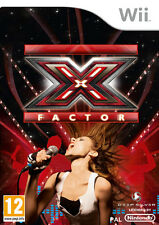 X-Factor Nintendo WII IT IMPORT DEEP SILVER