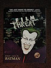 FILM THREAT #18 film fanzine David Cronenberg*Tom Waits*Monte Hellman*Mink Stole