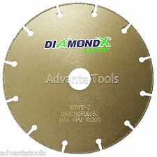 "6"" Metal Cutting Diamond Blade Cut-Off Wheel - Type 1 for Angle Grinders"