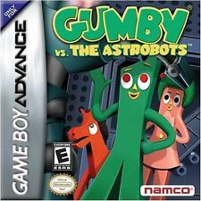 Gumby vs. Astrobots GBA New Game_Boy_Advance