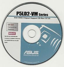 ASUS P5LD2-VM Motherboard Drivers Installation Disk M841