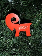 Scandinavian Swedish God Jul Goat Julbock Christmas Ornament EL640