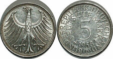 ALLEMAGNE 5 MARK 1958 D KM#112.1