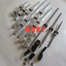 3 SBR25 sets +3 ballscrews RM2005+3BK/BF15 +3 couplers