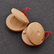 Kastagnetten Castanets Flamenco Musikinstrument Spanien Schlagzeug Kinder 1 Paar