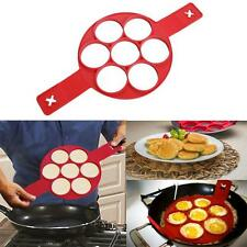 Flippin' Fantastic Nonstick Pancake Maker Egg Ring Maker Z