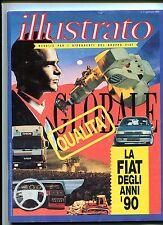 ILLUSTRATO - Mensile Per I Dipendenti del Gruppo Fiat #N.1 Gennaio 1990 -Rivista