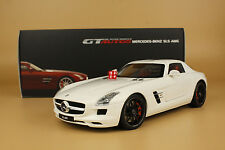 1/18 GT AUTOS GTA Welly Mercedes-Benz SLS AMG white color