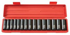 TEKTON 1/2 Dr. Deep Impact Socket Set (10-24mm) Cr-V 4883 Tool Set NEW