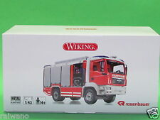 1:43 Wiking 1:43 Art 043142 Feuerwehr - Rosenbauer AT (MAN TGM) Blitzversand