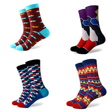 wholesale lot of 40 Pairs Mens Colorful Dress Socks crossfit athletic not stance