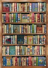 'HOBBIES & PASTIMES (Vintage Boys Books) WOODEN JIGSAW PUZZLE by Wentworth *NEW*
