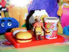 Barbie McDonalds Happy Meal w/toy Tray (B) fits Fisher Price Loving Family Dolls