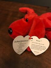 Ty Beanie Baby - Red Dog born 05-30-1996 NEW with tag!